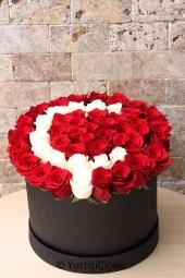 Sevdiğinizin baş harfini kutu içerisinde gönderin, Onu çok ama çok mutlu edin. Not: Siparişinizi tamamladıktan sonra istediğiniz harfi bildiriniz.